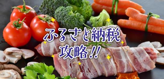 ふるさと納税攻略!!
